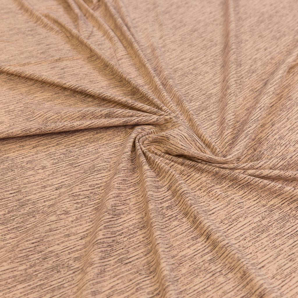 Jersey med melert mønster