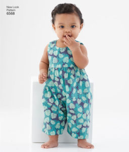 New Look 6568 Baby romper