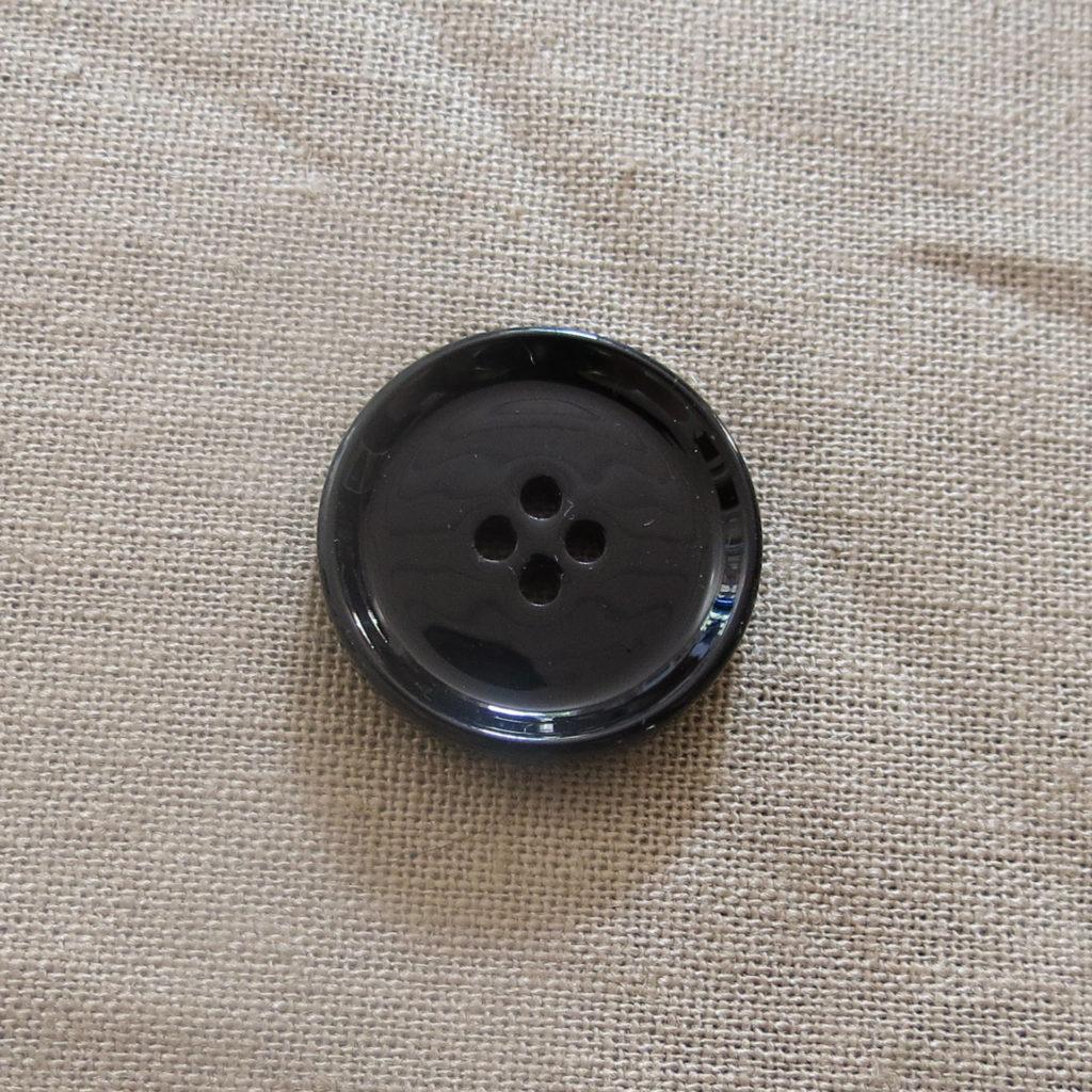 Rund blank knapp