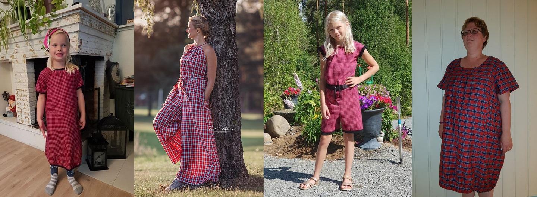 Rutermnai3: buksedress og kjoler