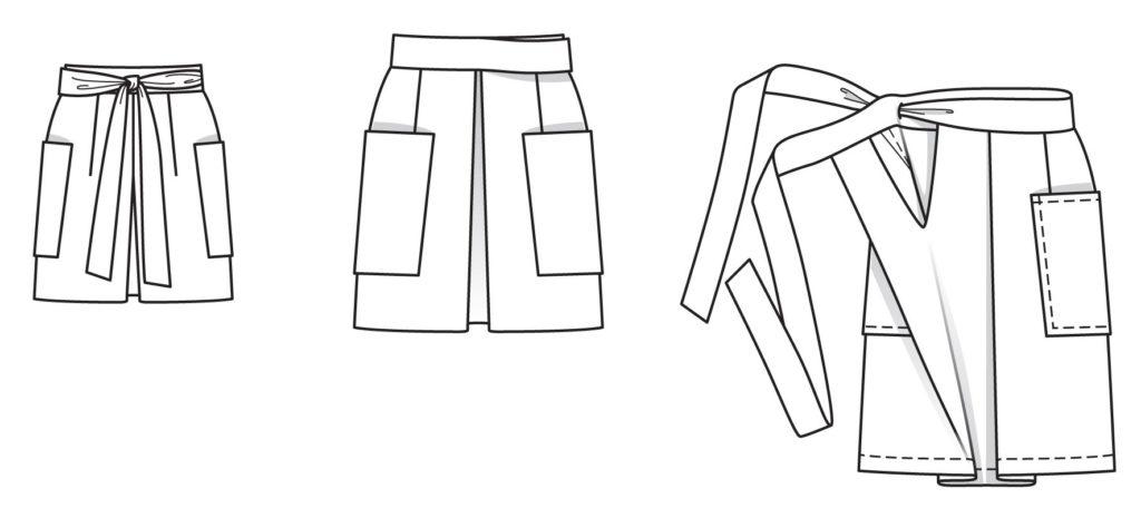 BurdaStyle 02/2015 - 109 i denim skjortestoff fra Cotton Candy