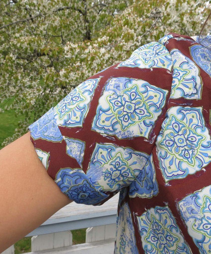 Burda 05/2016 #101 silke bluse