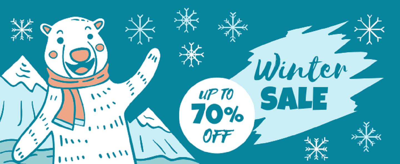 Vinter salg