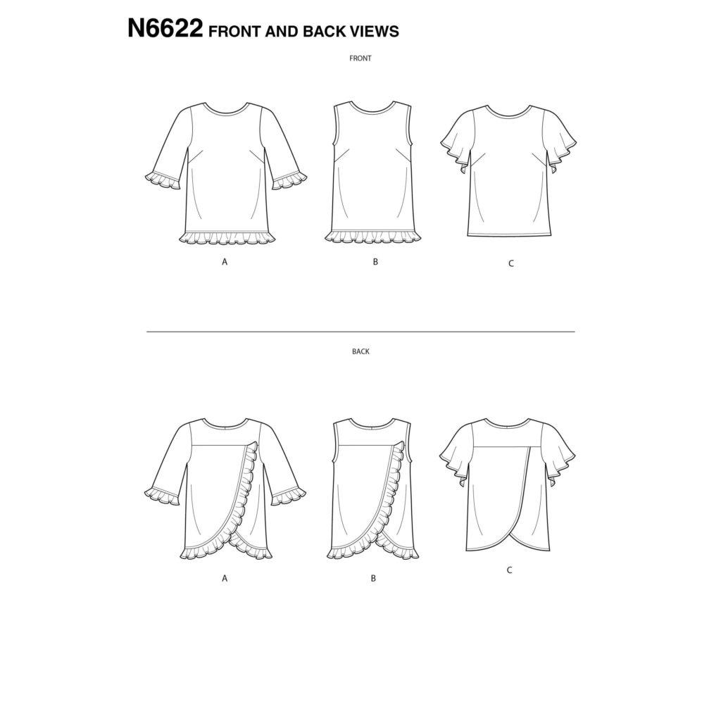 New Look N6622