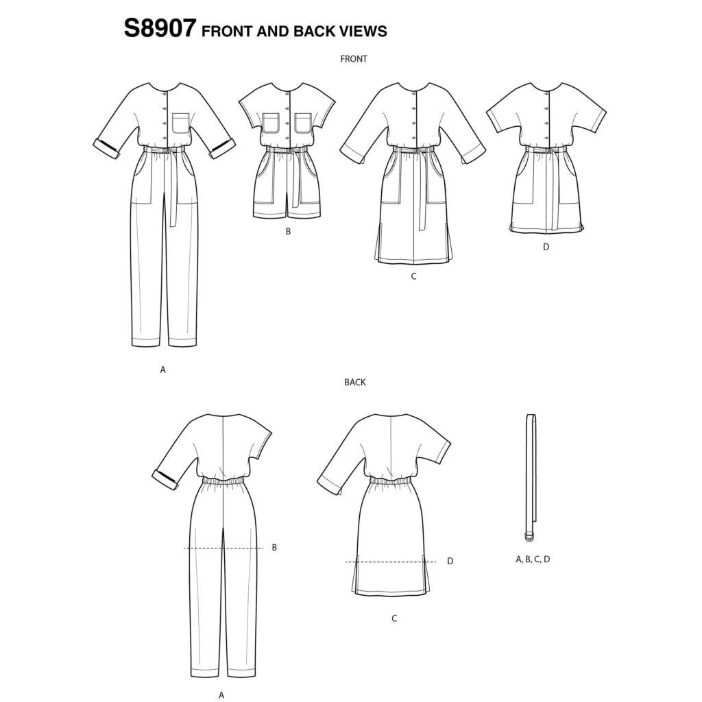 Simplicity S8907