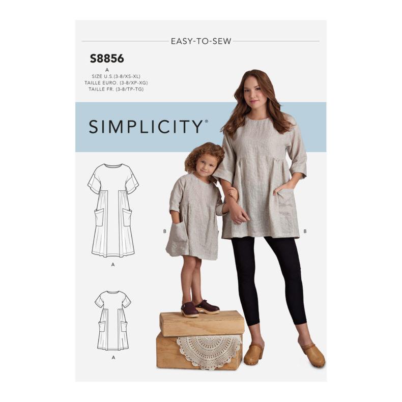 Simplicity S8856