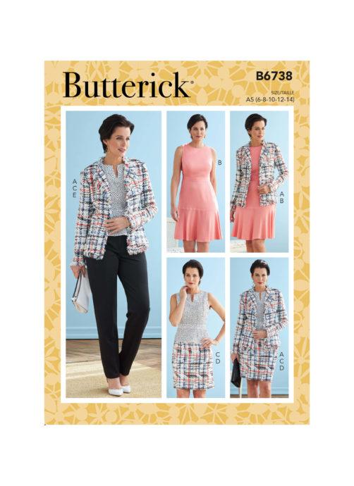 Butterick B6738