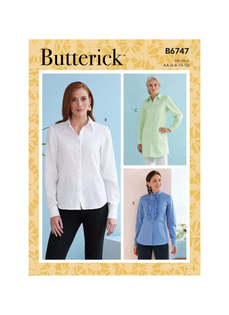 Butterick B6747