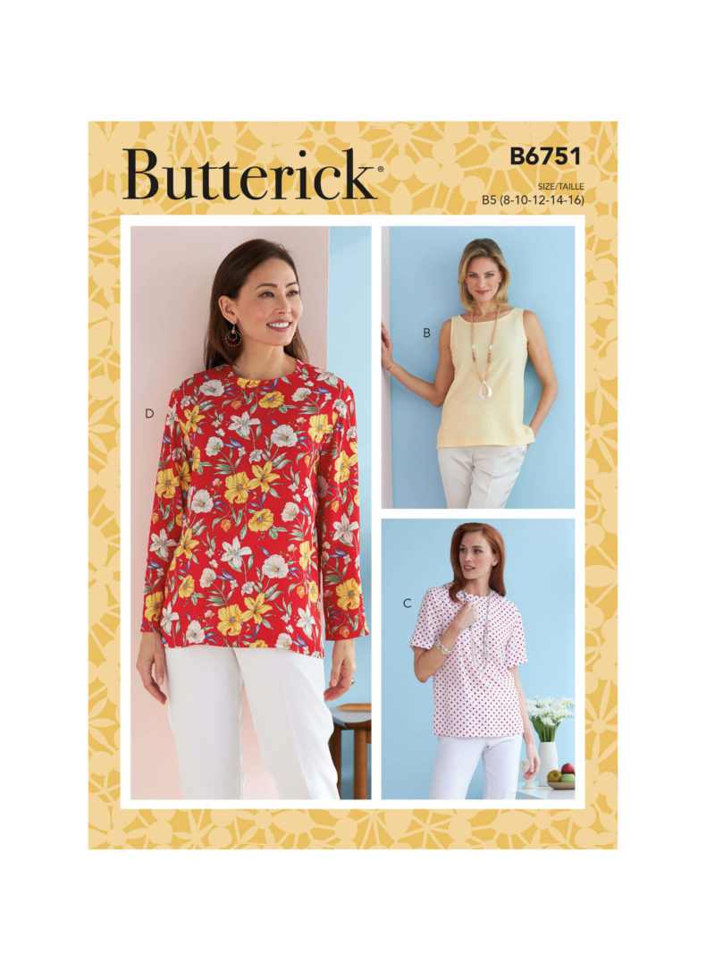 Butterick B6751