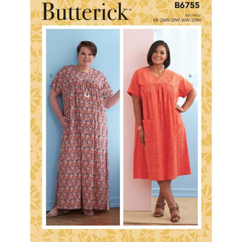 Butterick B6755
