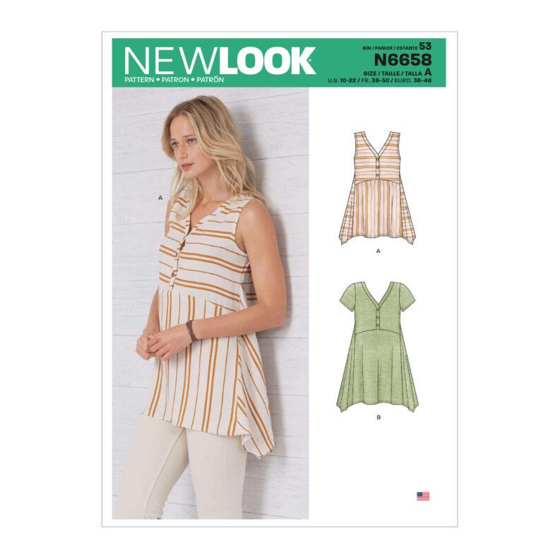 New Look N6658