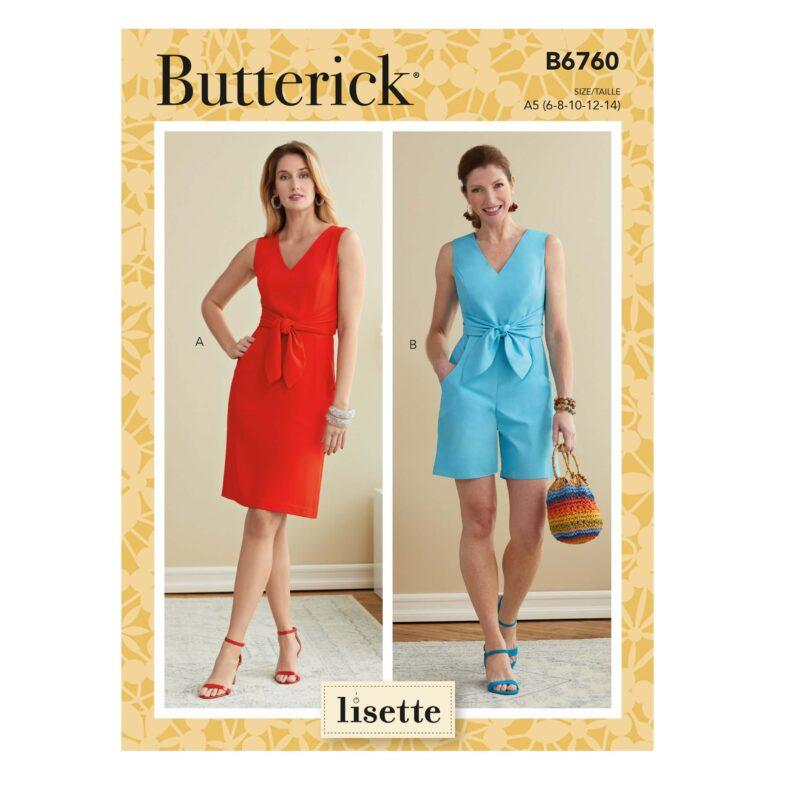 Butterick B6760