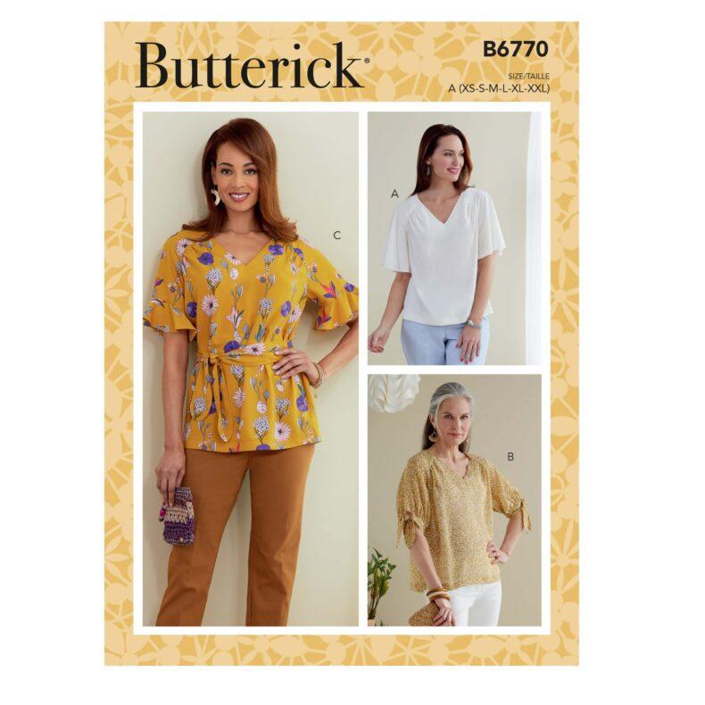 Butterick B6770