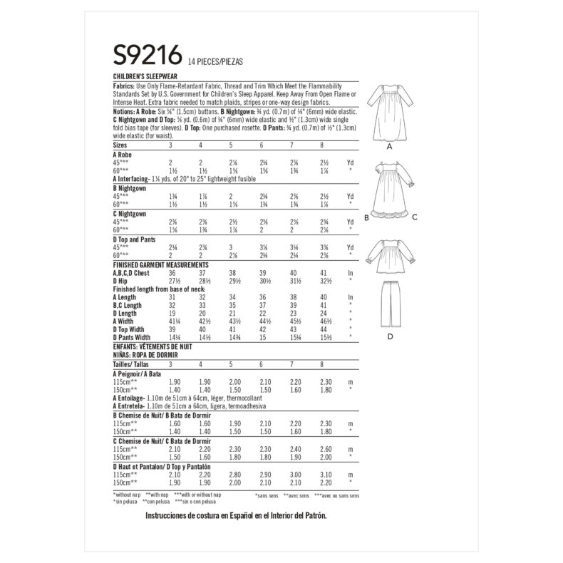 Simplicity S9216