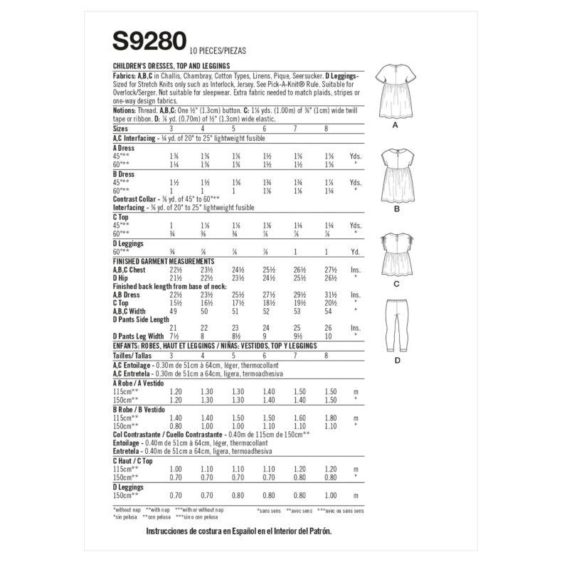 Simplicity S9280